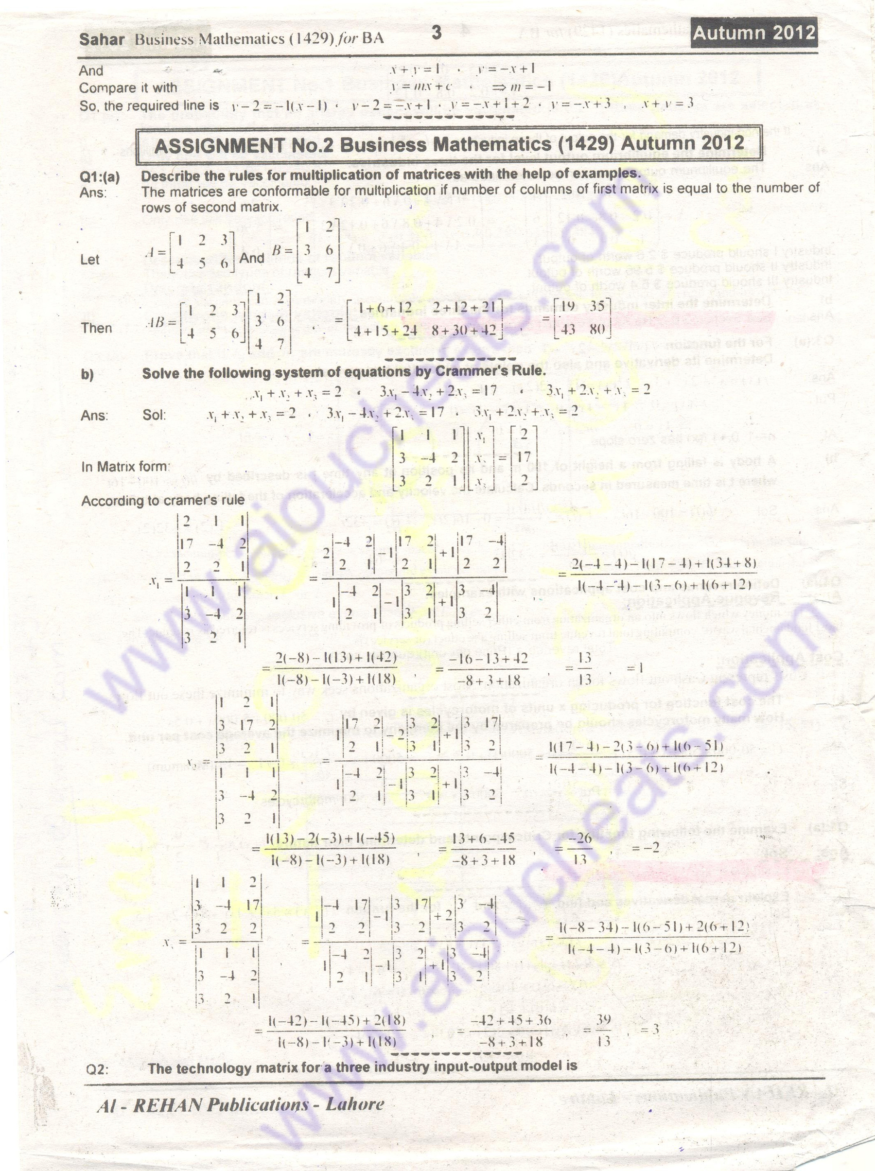 please solve this mba assignment Chap8 the transportation and assignment problems  integer solution property:  for transportation problems where every si and dj  please refer to p 362 of.