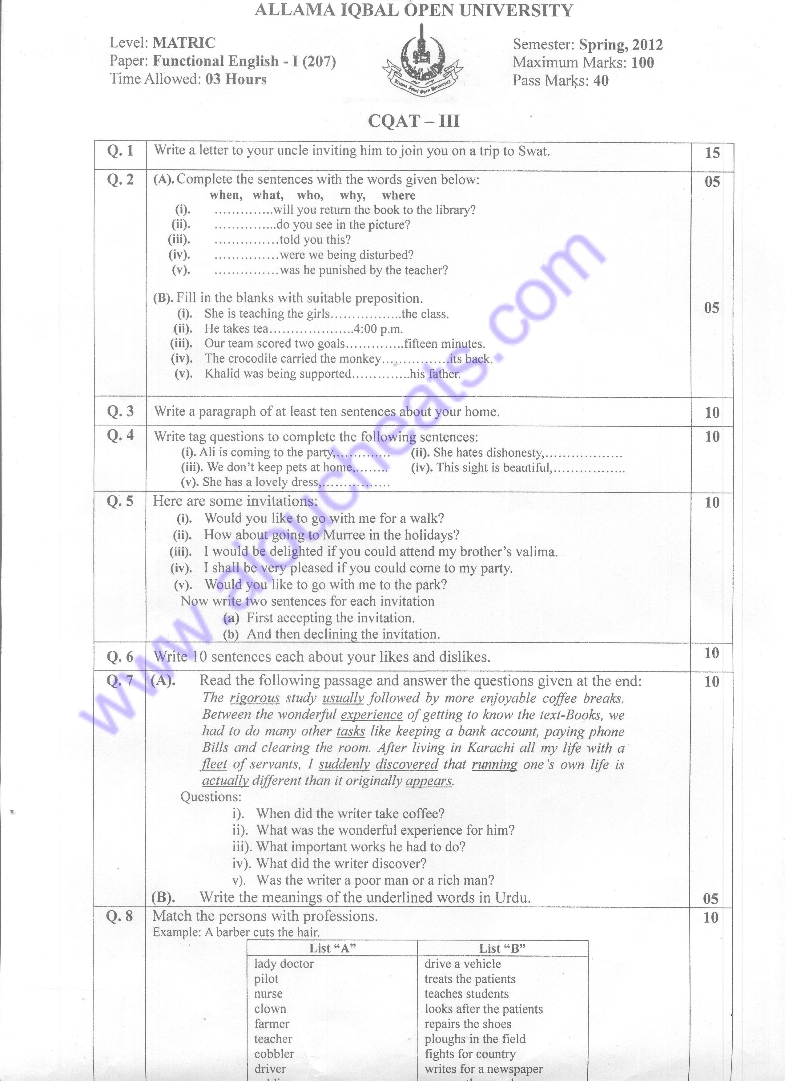 Internal Citations Research Paper