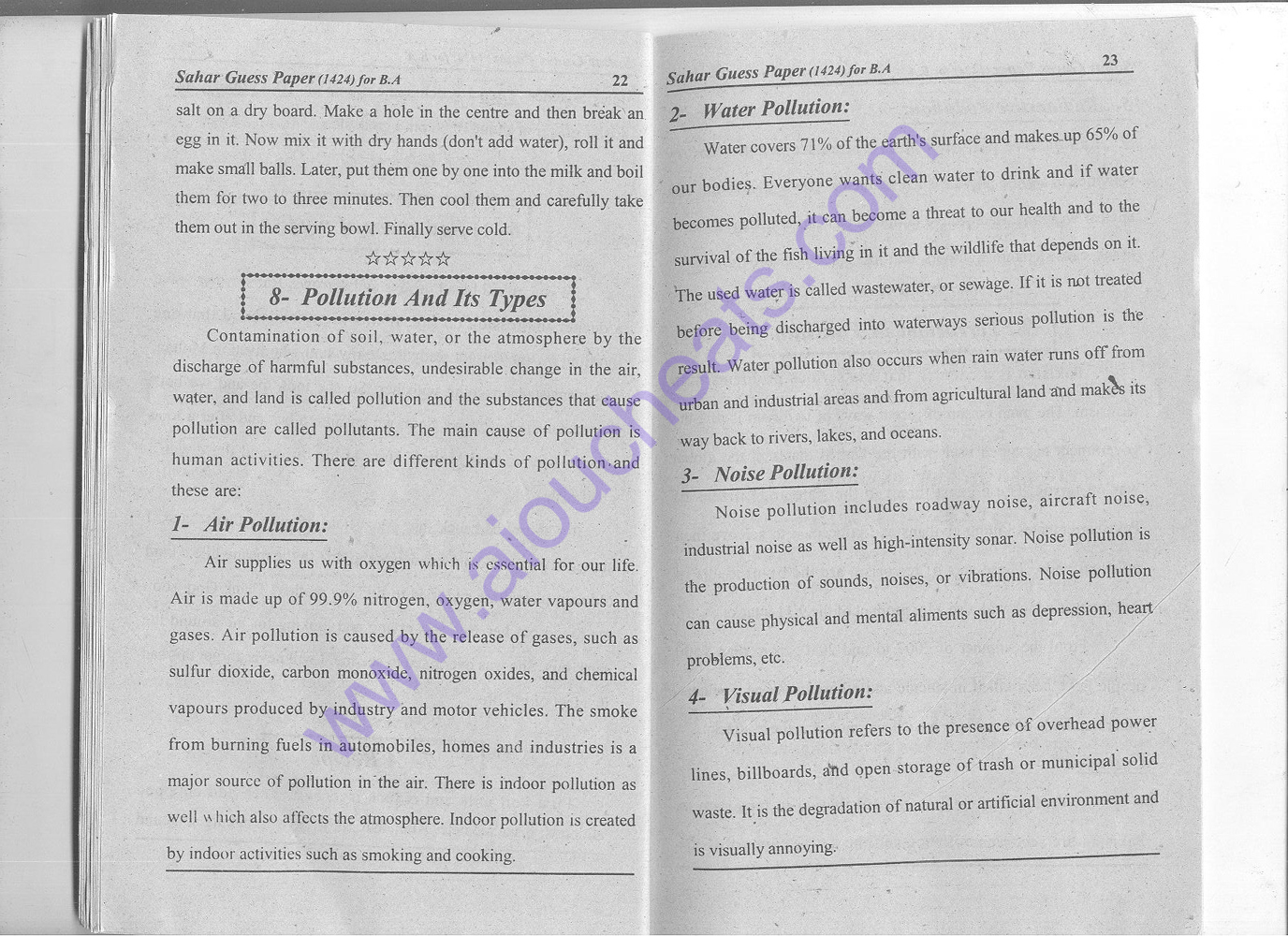 ba essay notes 2nd year english notes very easy and simple: most important questions to get through /pass annual exams (guess.